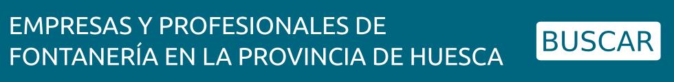Encuentra empresas y profesionales de fontanería en Huesca